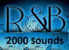 R&B 2000 Sound Drum & Samples Kit RnB wav MPC Fruity Logic Maschine Reason FL