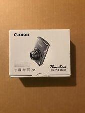 Canon PowerShot ELPH 160 / IXUS 160 20.0MP Digital Camera - Silver