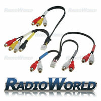 Alpine RCA Pre Out Phono Cable Lead Wiring Harness INA-W900 INA-W910R IVA-W520R