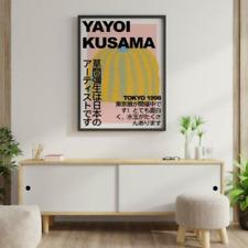 Yayoi Kusama Exhibition Poster Wall Art No Frame Art Decor Style Poster