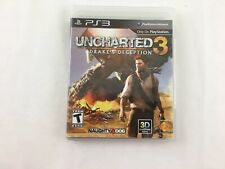 SONY PS3 VIDEO GAMES Uncharted 3 Game Drake's Deception PlayStation 3