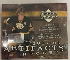 2007-08 Upper Deck Artifacts Factory Sealed Hockey Hobby Box