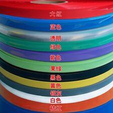 Battery Package Sleeve PVC Heat Shrink Tubing Wraps Dia Φ9mm Flat Width 15mm