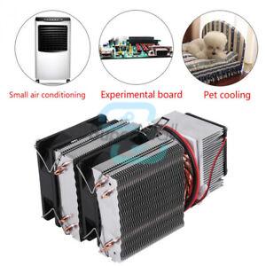 Placa de fr/ío Peltier termoel/éctrica de refrigeraci/ón de semiconductores de 12 V con ventilador Placa de enfriamiento Peltier de 240 W para enfriamiento en espacios peque/ños etc