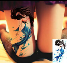 Mermaid Dream Waterproof Temporary Tattoo Stickers Fake Tattoos For Women Men