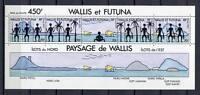36331) Wallis & Futuna 1992 MNH Landscapes S/S
