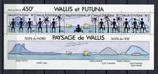 36331) WALLIS & FUTUNA 1992 MNH** Landscapes s/s