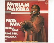 CD MYRIAM MAKEBA	enregistrement public au theatre des schamps-elysees - 1(B2304)