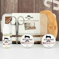 Beard Grooming Kit   Balm, Wax, Oil, Comb
