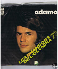 LP ADAMO LES CHANSONS DE L'OLYMPIA 73