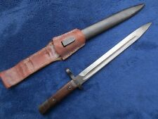 ORIGINAL AUSTRO-HUNGARIAN M1895 CARBINE BAYONET AND SCABBARD