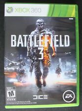 BATTLEFIELD 3 XBOX 360 MICROSOFT VIDEO GAME