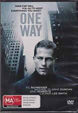 ONE WAY - LAUREN LEE SMITH - TIL SCHWEIGER - DVD  NEW -
