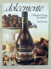 E864-Advertising Pubblicità-1996- FRANCOLI VEVETIAN CREAM