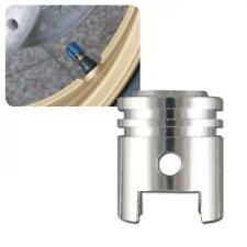Buell 1125 CR Ventilkappenset Kolben silber Ventilkappen