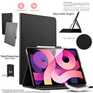 Genuine ESR Premium Folio with Pencil Holder Cover for iPad Air 4 10.9 2020 Case