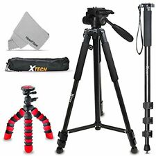 3 Tripods Kit for Canon Eos Rebel T7i T7 T6i T6S T6 T5i T5 T4i T3i T2i