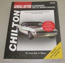 Reparaturanleitung Repair Manual Chevrolet Camaro Baujahre 1967 - 1981!
