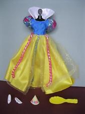 NEW 1996 Barbie Doll Princess Snow White Happy Birthday Dress Shoes/Clothes Set