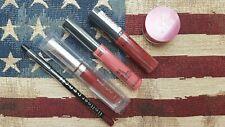Liquid Lipstick/Liner set: CK Calvin Klein NYX The Body Shop LA Splash LA Colors