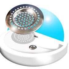 2x Abflusssieb Haarsieb Ablaufsieb für Badewanne Dusche Waschbecken Küchenspüle
