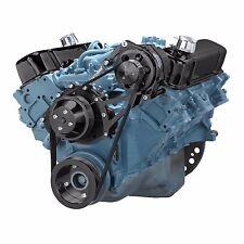 Black Pontiac Serpentine Pulley Kit Alternator Only System 350 400 428 455