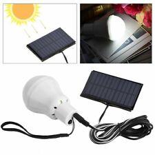 Solar Powered Led Light Bulb Lantern Lamp Spotlight Hooking SMD2835 IP44 B8E4
