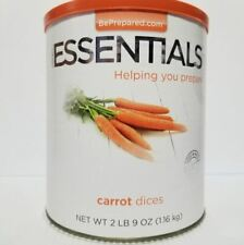 Emergency Essentials Freeze Dried Food Carrot Dices #10 Can