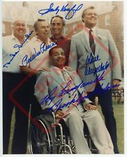 8.5x11 Autographed Signed Reprint RP Photo Brooklyn Dodgers Greats Campanella