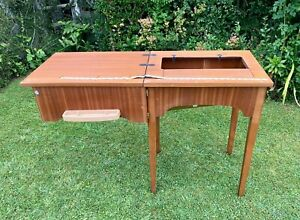 Sewing Machine Cabinet Table Excellent Condition. TEAK?