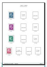 Album de timbres Marianne de Cheffer à imprimer