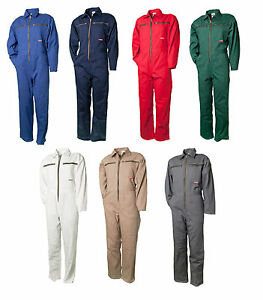 Planam Rallyekombi BW 290 Arbeitskleidung Overall 100% Baumwolle Workwear