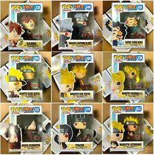Funko Pop Naruto Shippuden : Sage Mode, Six Path, Gaara, Sasuke, Itachi , Madara