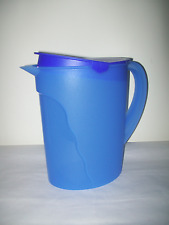 Tupperware Impressions Gallon Pitcher Mixed Berry Blue USA Rare New in Package
