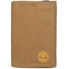Timberland Nylon Trifold Wallet - KHAKI (Men) **BRAND NEW IN BOX**