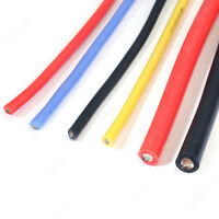 2m Silikonlitze 12 18 26 30 AWG Silikonkabel Silikon Litze Kabel Wire Kupfer