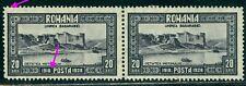 1928 Bessarabia,Basarabia,Fortress Hotin,Romania,Mi.335+335 I,CV$220,MNH ERROR/2