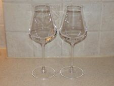 "CHEF & SOMMELIER CRYSTAL PAIR WINE STEMS 8 5/8"" EXCELLENT!"