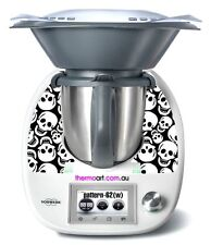 Thermomix TM5 Sticker Decal  (Code: Pattern 62-White)