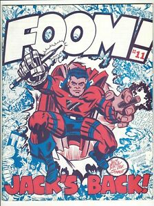 FOOM #11 * Jack Kirby Issue with Interview & Life Story & His Return to Marvel