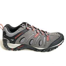 Merrell Crosslander Vent Hiking Shoes Men's Size 12 Granite Gray Suede J343406C