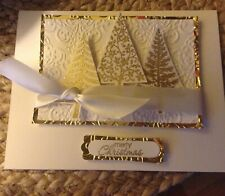 Stampin Up Christmas Trees Card Kit - Set of 3 + Sample Card New
