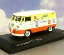 """DIECAST 1/43 VW VOLKSWAGEN T1 VAN PAI """"ARRIVANO LE PATATINE"""" (CRISPS C.1965"""