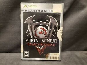Mortal Kombat: Deadly Alliance Platinum Hits (Microsoft Xbox, 2003) Video Game