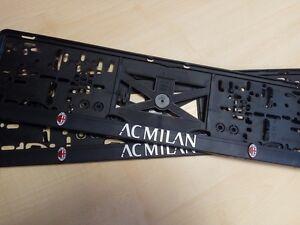 AC Milan 3D Kennzeichenhalter Nummernschildhalter 1 Paar/2 Stücken