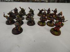 Games Workshop Lord of The Rings painted Dwarves  x 20 plastic figures