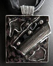 Rhinestone Enamel Alloy Fashion Necklaces & Pendants