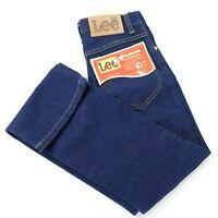 Lee Vintage Student Boot Cut 25 x 28 High Waist Trim Fit Blue Jeans Deadstock