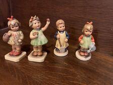 Lot Of 4 M.L. Hunmel Figurines