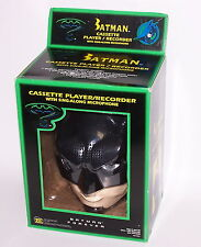 Batman Forever Cassette Player Recorder w/Sing Along Microphone NIB